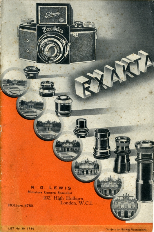 1936 Exakta Catalogue